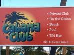 Cabana Club Membership included in rental - Huge temperature controlled pool & Private Beach
