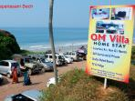 Close to beach and other tourist destinations