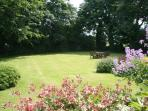 View of some of the gardens from The Little Vicarage.