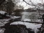 Winter walks along the coast path
