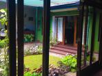 Side view of the Indoor Garden