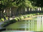 Nos chambres sont près du Canal du Midi