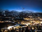 A beautiful picture of Breck at dusk!