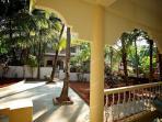 Tembewada House near Palolem and Patnem beaches - front balcony view