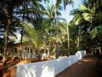 Tembewada House near Palolem and Patnem beaches - village lane