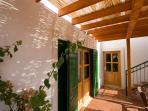 Green windows, Villa Liza, Hvar, Island Hvar