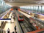 Metro de Santiago (2 cuadras)