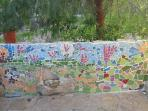 garden mosaic.
