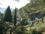 View across La Daby to Lavandes