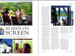 Living France magazine - January 2012 carried a 4 page article on Vue de Duras and its TV appearance
