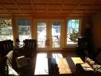 Sun filled livingroom