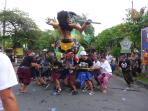 join Ogo-ogo activities, the day before the big Silent day 'Nyepi '(21 march)