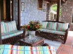 Interior living area..