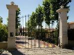 private domaine entrance
