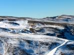 Sierra Nevada- where you can ski in the most glorious sunshine with breath taking views!