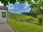 Country views from Abbotsway Cottage, peace and quiet away from it all.