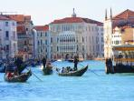 GRAN CANAL of VENICE 1 minute walk from us