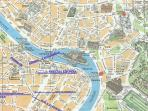 Trastevere map