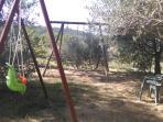 Jardin,balançoires