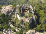Il Castello dall'alto