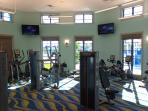 Gym at The Oasis Clubhouse
