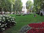Zagreb - one of the parks in the Center