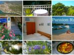 Pansion Rade - Double Bedroom, No.4, first floor - Directly on the Sea