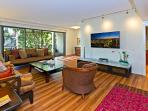 Kahala Beach #325 - Living room, remodeled in 2013