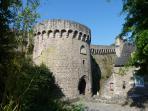 One of the impressive town gates - Porte de Jerzual