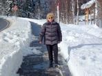 Im Winter sind viele Wanderwege vom Schnee befreit