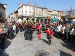 One of the many festivals is Limoux carnival