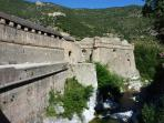 Villefranche de Conflent - Medieval walled town less than 10 minutes from the villa.  UNESCO site
