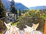 Cernobbio villa to rent with balcony