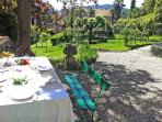 nice villa in Cernobbio with garden
