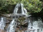 Laurel Falls- Smoky Mountain National Park, Easy Beautiful Walk