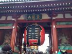 Kaminarimon gate 6min walk