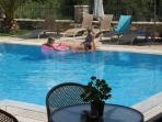 Enjoy swiiming and relax at the pool of Harmony