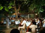 Open air concert in Longos