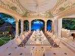 Crystal Springs - Dining Portico with Seating for 20