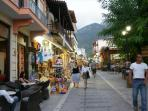 In the mountain village of Kalavryta