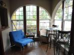 Lower suite sunroom perfect for curling up with a great book.