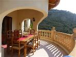 TOP TERRACE PERFECT FOR OUTSIDE DINING WITH FANTASTIC VIEWS