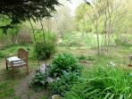 The 'Zen Garden' in the grounds, ideal for meditation and relaxing