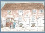 The Stables, drawn by Roxana de Rond
