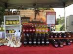 Otway Fields products feature produce grown organically on the farm.