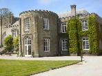 Prideaux House, Padstow overlooking the deer park. Event venue and film location.