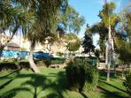 Inside Riviera park