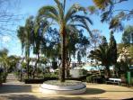 Riviera park (5 min walking)