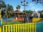 Nice kids park (5 min walking)