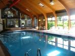 Maenporth Estate's indoor heated pool.